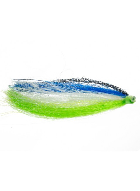 Black Attack : Blue + Chartreuse (Tube Fly)