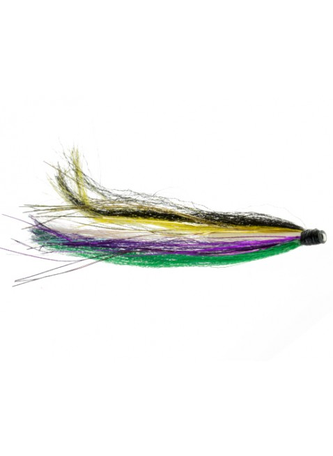 Black Attack : Yellow + Purple + Green (Tube Fly)