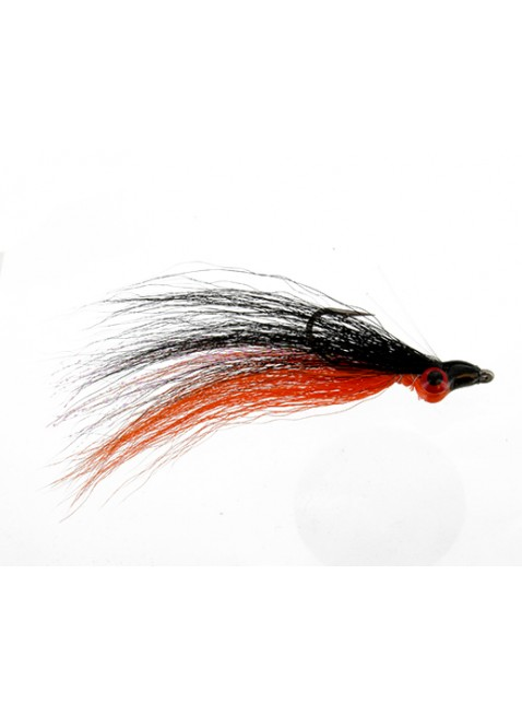 Clouser : Black and Orange