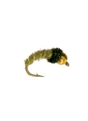Beadhead Caddis : Olive