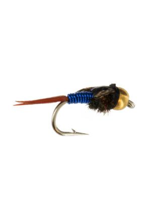 Beadhead Copper John : Blue