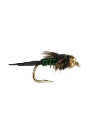 Beadhead Copper John : Green