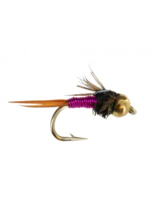 Beadhead Copper John : Pink