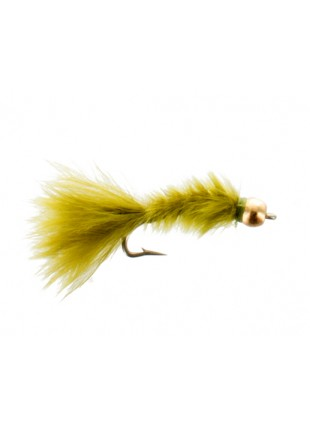Beadhead Micro Bugger : Olive