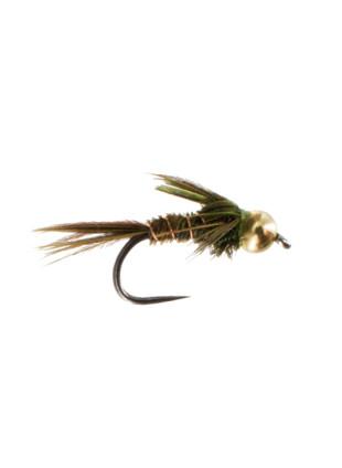 Beadhead Pheasant Tail : Olive (Barbless)