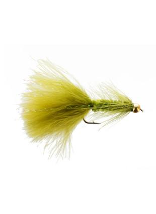 Beadhead Woolly Bugger : Olive