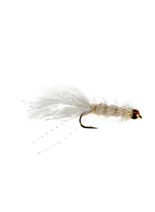 Beadhead Woolly Bugger : White