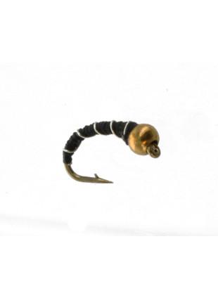 Beadhead Zebra : Black