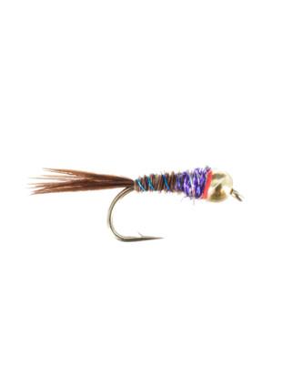 Beadhead Tungsten Frenchie : Purple