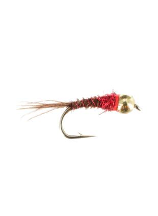 Beadhead Tungsten Frenchie : Red