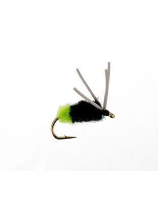 Bluegill Spider : Chartreuse Butt