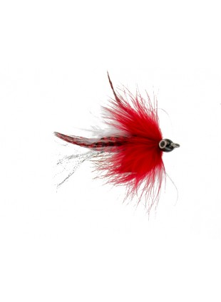 Bullethead Baitfish : Red and White