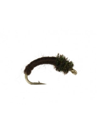 Caddis Larva : Chocolate