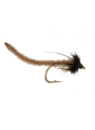 Caddis Poopah : Tan