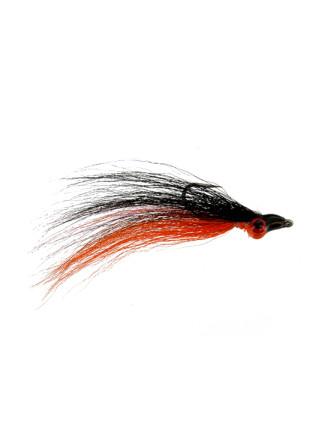Clouser : Black and Orange