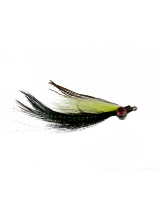 Clouser Deceiver : Black Out