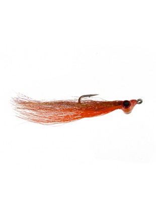 Clouser : Brown and Orange