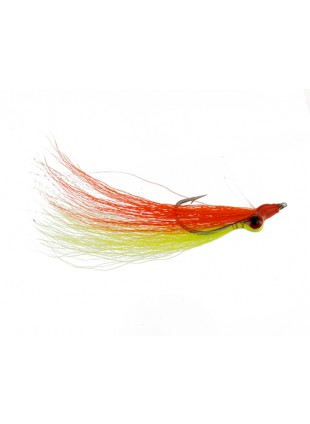 Clouser : Orange and Yellow