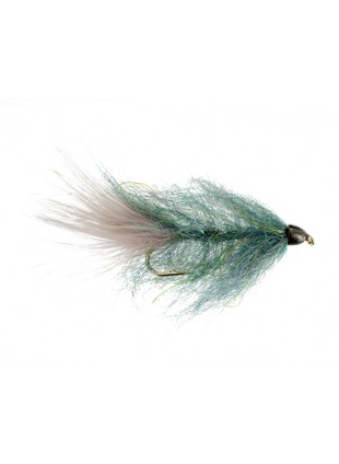 Conehead Brush Bugger : Baitfish Blue