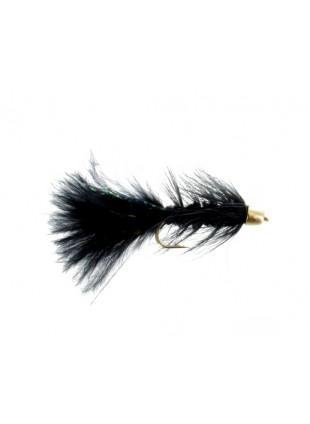 Conehead Woolly Bugger : Black