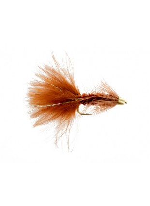 Conehead Woolly Bugger : Brown