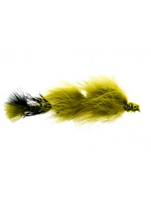 Double Peanut : Olive and Black (Double Articulated)