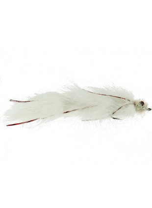 Double Peanut : White and Red (Double Articulated)
