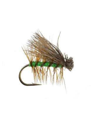 Elk Hair Caddis : Bright Green