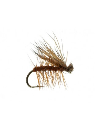 Elk Hair Caddis : Brown