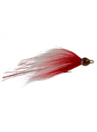 Flash Fish, Red and White