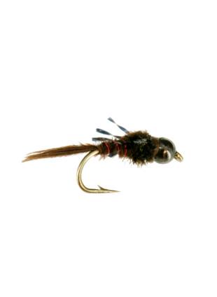Beadhead Atomic-Pheasant Tail : Red Wire