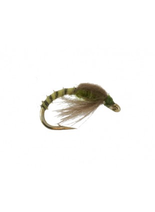 CDC Loop Wing Emerger : Olive