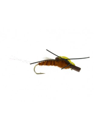 Floating Stonefly : Brown