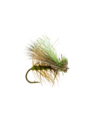 Hi Viz Elk Hair Caddis : Olive