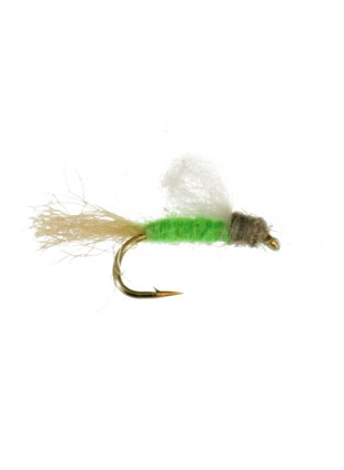 Iris Caddis : Bright Green