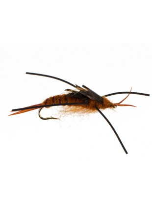 Kaufmann Rubberleg Stonefly : Brown