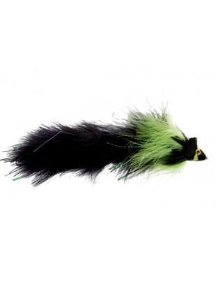 Meat Puppet : Black and Chartreuse (Double Articulated)