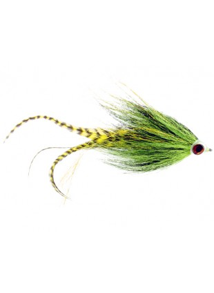 Musky Bandit : Chartreuse and Black