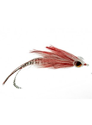 Musky Mayhem : Red and White (Articulated Shank)