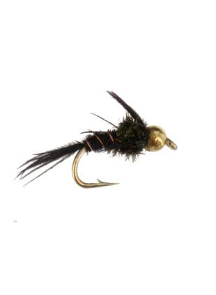Beadhead Tungsten Pheasant Tail : Black
