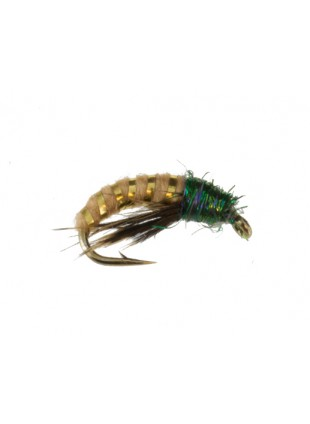 Psycho Caddis : Tan