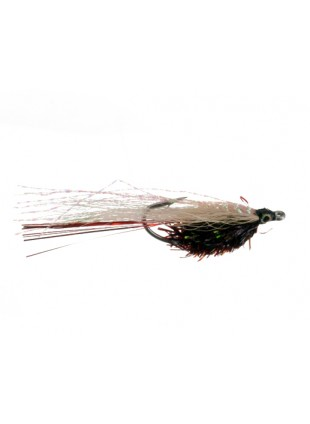 Redfish Minnow : Black + White