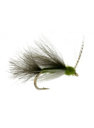 Slow Water CDC Caddis : Olive