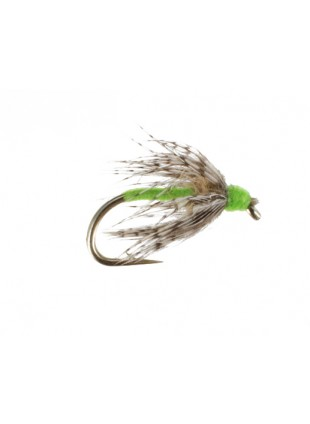 Soft Hackle : Bright Green