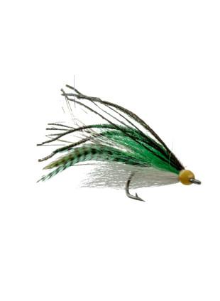 Striper Snack : Green + Olive