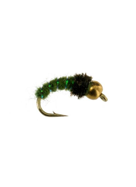 Beadhead Caddis : Green