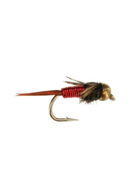 Beadhead Copper John : Red