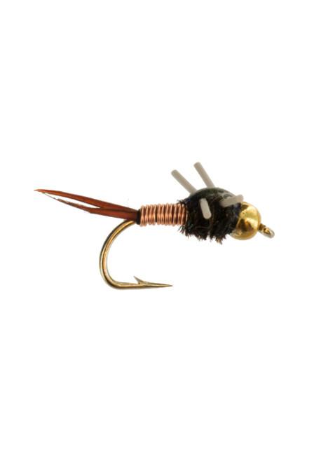 Beadhead Copper John : Rubber Legs