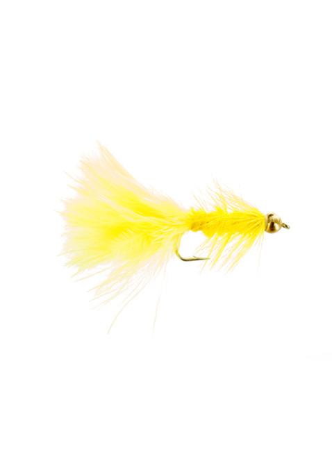 Beadhead Woolly Bugger : Yellow