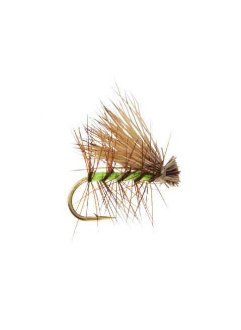Elk Hair Caddis : Flourescent Green